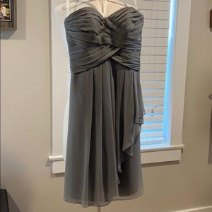 David's Bridal strapless size 2